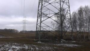 Linia 2x400kV Ełk – Granica Państwa  - odszkodowania, służebności